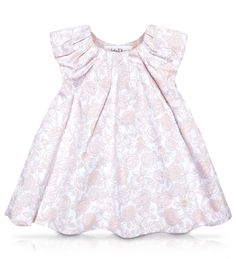 BABY DIOR - Beige floral print cotton satin dress Nana needs a bigger budget!