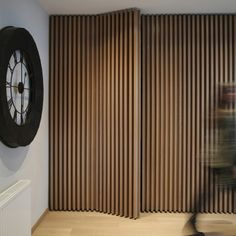SQUAREARCHITECTS provide services in architecture (hotels and residences), retail design, interior design and also branding in architecture. Wood Slat Wall, Wood Slats, Wooden Walls, Door Design, Wall Design, House Design, Modern Interior, Home Interior Design, Hidden Rooms