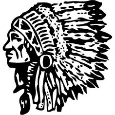 indian chief stencil patterns - Google Search