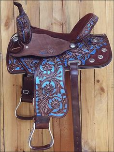 HILASON HORSE TACK WESTERN LEATHER BARREL RACING TRAIL PLEASURE SADDLE : HSOS204RO from hilason.com