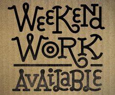 Weekend Work – Jason Wong – Friends of Type