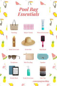 Beach Fun, Beach Trip, Beach Bag Essentials, Summer Pool, Pool Days, Day Bag, Summer Ideas, Wet And Dry, Mary Kay