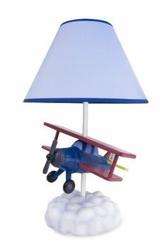 Airplane Table Lamp with Matching Night Light - Fantastic Hand Painted Details by Bright Lights. Save 20 Off!. $79.99. Hand Painted Airplane Lamp, Up Up and Away!  Spark the imagination of every little one as they dream of flying their own plane over fluffy white clouds...  The matching night light will have young ones dreaming of flight as they doze off for the night!