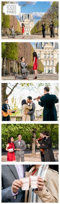 The complete guide to acing your Paris proposal, AMAZING Paris proposal ideas, the best place to propose in Paris, and even the Dos & Don'ts Paris Engagement Photos, Engagement Session, Best Places To Propose, Romantic Proposal, Romantic Places, Marriage Proposals, Your Girl, Parisian, Stylish Outfits