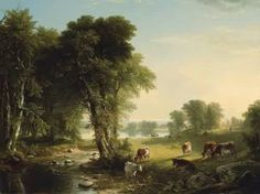 Asher Brown Durand The Babbling Brook 1851