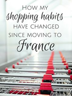 My overall shopping habits in France have changed at the grocery store, while shopping online and even out and about at shops in town. What specifically has changed and why? Save Money On Groceries, Ways To Save Money, Money Saving Tips, Saving Ideas, French Lifestyle, Lifestyle Blog, Healthy Lifestyle, Paris Shopping, Shopping Tips