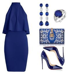 formal by sissy-30 on Polyvore featuring polyvore fashion style Christian Louboutin Dolce&Gabbana VanLeles Kevin Jewelers clothing