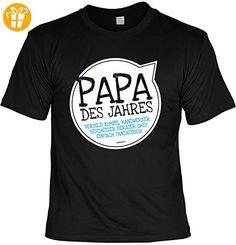 Vater Sprüche Tshirt - cooles für Papa : Papa des Jahres Vorbild -- Geschenk T-Shirt Vatertag Geburtstag Gr: XL (*Partner-Link)