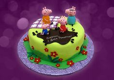 Коллекция искушений, Торт Свинка Пеппа, детский торт, торты для детей, торт на день рождения #authorcake #свинкапеппа #свинкапепа #заказатьторт #детскийторт #тортдевочке #торт