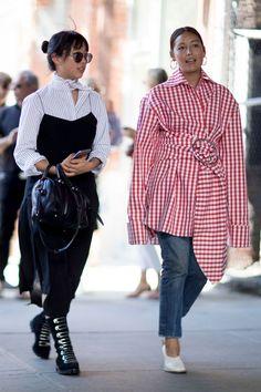 Margaret Zhang, Rachael Wang, fashion bloggers 9/21/16