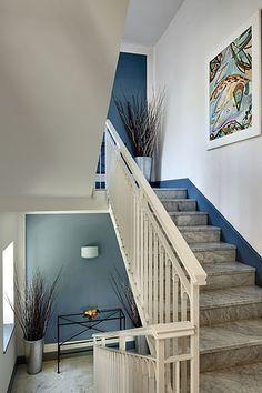 Interior view-stairs