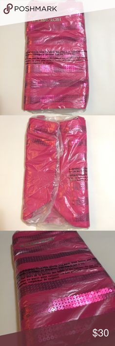 Victoria's Secret Pink Sequenced Tote Brand new and still in packaging, Victoria's Secret pink sequenced Tote. Never opened. Victoria's Secret Bags