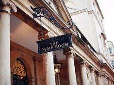 """The Pump Room - mentioned in Jane Austen's book """"Northanger Abbey.  It was a favorite gathering place for wealthy and socially minded people ..."""