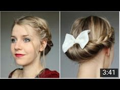 ❤ COAFURI SIMPLE DE FACUT ACASA , RAPID SI ELEGANT ! ❤ Cute Hairstyles, My Hair, Hair Styles, Hat Patterns, Beauty, Hair Ideas, Fashion, Tuto Coiffure, Top Knot