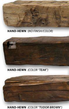 Reclaimed Fireplace Mantel | Rustic Fireplace Mantels | Ohio Mantels