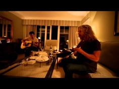 Tommy Shaw (of Styx) and Will Evankovich playing BLUEGRASS in the living room - great tune