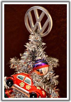 Christmas Volkswagen Clay Cat Folk Art Ornament | Volkswagen, Folk ...