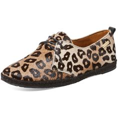 KAANAS Women's Cheetah Print Espadrille Sneaker - Size 10 ($60) ❤ liked on Polyvore featuring shoes, sneakers, multi, cheetah sneakers, espadrille shoes, leather espadrilles, low profile sneakers and lace up espadrilles