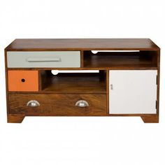 Humphrey Wood Television Cabinet | Available Now | Oliver Bonas