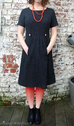 Simplicity 1652 sewing dress diy