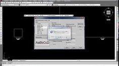 0205 - Curso Autocad - Estilo de Texto - YouTube