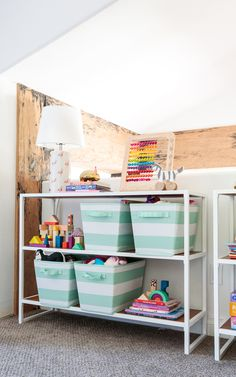 Playroom Storage - d