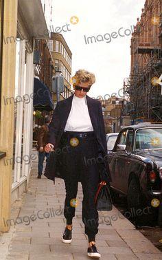 Princess Diana Daphnes Restaurant, London Photo: Miguel-alpha-Globe Photos Inc 1994