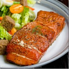 Ever wonder what it takes to make smoked salmon? My husband bought a smoker a while ago and ever since we've been enjoying delicious smoked salmon. Learn how you can do it at the comfort of your ow...