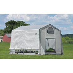 Shelter Logic Grow-it Greenhouse-in-a-box Greenhouse (Shelter Logic Grow it Greenhouse 10' x 10' x 8'), White (Polyethylene) #70656