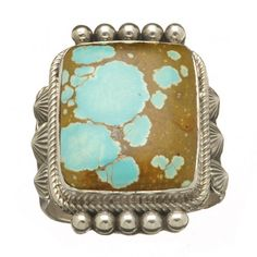 Bague Turquoise. | H