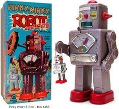 Pinky Winky Robot & Son