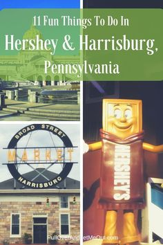 The two cities pair nicely offering visitors a variety of unique attractions. Here are eleven fun things to do in Hershey & Harrisburg, Pennsylvania. Harrisburg Pennsylvania, Gettysburg Pennsylvania, Pennsylvania History, Hershey Pennsylvania, Theme Parks In Pennsylvania, Romantic Honeymoon, Romantic Travel, Stuff To Do, Things To Do