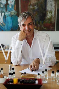 Jean-Claude Ellena - perfumer for Hermes