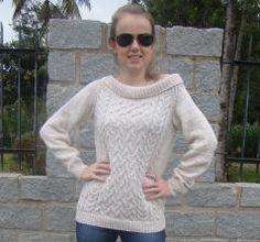 Blusa  Elige tu lana en Atika, sugerimos que utilices lana Nevilan  o Mollet. Disponible en varios colores. www.facebook.com/atika.bolivia