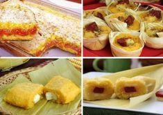 10 Stuffed Pamonha Recipes for June Party Fried Mush, Fried Pies, Guava Jam, Ears Of Corn, Cinnamon Powder, Milk Cans, Milk Tea, Baking Ingredients, Food Hacks