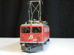 Neuwertig 1/87 HOm BEMO set 7252 100 Ge4/4 607 & 3x Personenwagen RhB GS/DC+OVP  in Modellbau, Modelleisenbahn, Schmalspur von Nm-0m   eBay!