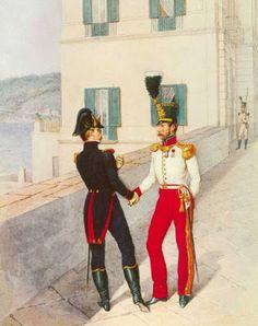 Velites del 1 ° Reggimento delle Velites della Guardia Reale