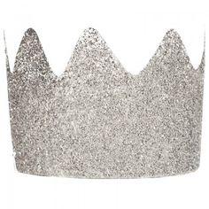 My Little Day 8 Silver Glitter Crowns | AlexandAlexa