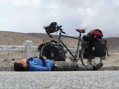 Emily Chappell: de courrier a dar la vuelta al mundo en bicicleta
