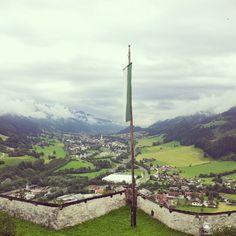 Ennstal Cn Tower, Mountains, Building, Nature, Travel, Naturaleza, Viajes, Buildings, Destinations