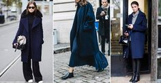 Always a classic go-to for fashionistas, the navy coat is a smart staple we could all do with adding to our wardrobes. Channelling on-trend military vibes, double breasted dark blue cover-ups are everywhere this season.