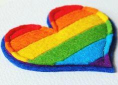 Colorful Heart #rainbow