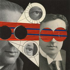 Blind Leading the Blind, 2011. Collage by Angelica Paez.