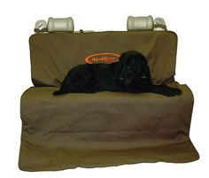 Mud River Two Barrel Double Seat Cover Brown Size XL Truck Dog Protection for sale online Bench Seat Covers, Pet Car Seat Covers, Dog Car Seats, Cat Travel Accessories, Painted Stools, Best Dog Training, Hunting Dogs, Hunting Gear, Colors