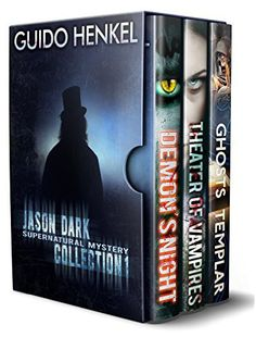 Jason Dark Supernatural Mystery Collection 1 by Guido Henkel #Review ~ Authors' Cafe