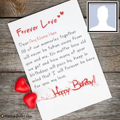 10 Best Romantic Birthday Cards images in 2017 | Birthday