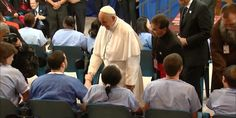 9/27/2015 Pope Francis visits a correctional facility in Philadelphia, PA
