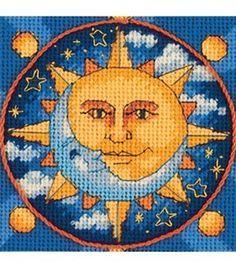Dimensions Jiffy Sun And Moon Mini Ndlept Kit : needle point : cross stitch : yarn & cross stitch : Shop | Joann.com