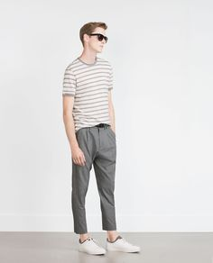 Image 1 of STRIPED SWEATER from Zara