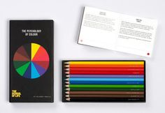 The Psychology Of Color, Summed Up In A Box Of Pencils | Co.Design | business + design Colored Pencils, Colour Psychology, Colouring Pencils, Dark Red, Dark Brown, Color Box, Emotional Intelligence, Different Colors, Book Of Life